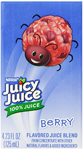 Juicy Juice 100% Juice, Berry, 8-Count/4.23-Ounce Boxes (Pack Of 5) front-126482