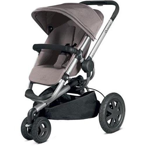 2013 Quinny Buzz Xtra Stroller, Gracious Grey front-14328
