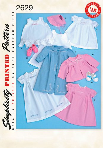 Simplicity Sewing Pattern 2629 Crafts, A (XXS-XS-S-M-L)