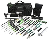 Big Sale Best Cheap Deals Greenlee 0159-11 Electrician's Tool Kit, 28-Piece