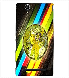 PrintDhaba Quote D-2969 Back Case Cover for SONY XPERIA T2 ULTRA (Multi-Coloured)