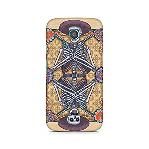 Mobicture Skull Abstract Premium Printed Case For Moto X
