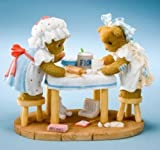 Cherished Teddies Figurine Cooking Up Some Fun Camy and Emmie 2011 Club MOF