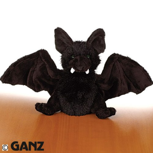 Webkinz Plush Stuffed Animal Black Bat