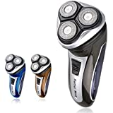 Alcoa Prime 3W Super Power Electric Rechargeable Male Face Shaving Razor Electric Shaver 3 Head For Men Face Care