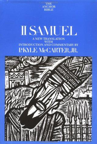 II Samuel (The Anchor Bible, Vol. 9)