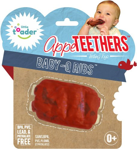 Teething Toys - BPA Free - Baby Q Ribs Appeteether - 1
