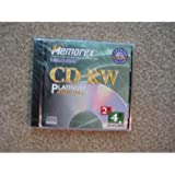 Memorex 650MB/74-Minute 24x CD-RW Media (Single Disc with Jewel Case) (Discontinued by Manufacturer)