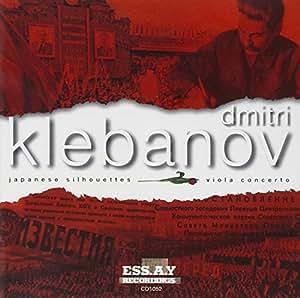 Klebanov: Viola Concerto. Japanese Silhouettes