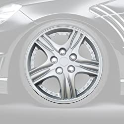 LT Sport serial#WC-11 for MAZDA 14″ HUB CAP WHEEL RIM COVER 4pcs 5-Spoke Star HUBCAPS+Chrome Lugs