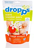 Dropps Scent Booster Pacs with In-Wash Softener + Enhancer, Orange Blossom, 16 Loads (Pack of 2)
