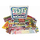 1923 93rd Birthday Gift Basket Box Retro Nostalgic Candy From Childhood