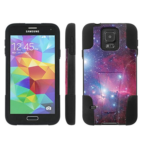 [ArmorXtreme] Case for Samsung Galaxy S5 [Hybrid Armor KickStand Dual Layer Protection Case] - [Space] (Samsung S5 Mini Armor compare prices)