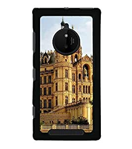 iFasho Historic Place Back Case Cover for Nokia 830
