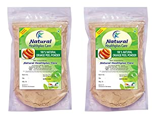 Natural Orange Peel Powder Pack of 2 by Natural Healthplus Care