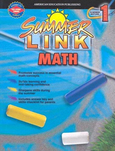 Summer Link Math Gr. K-1 (Summer Success)