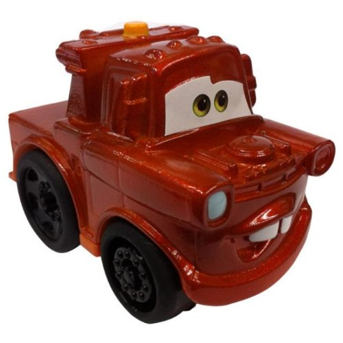 Fisher Price Wheelies Disney Pixar Cars 2 Mater NEW Metallic Finish