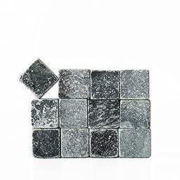 SPARQ Whiskey Rocks, Small, Grey, Set of 12