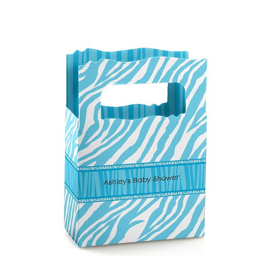 Zebra Baby Shower Favors front-739520