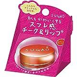 SUGAO スフレ感 チーク&リップ いきいきオレンジ 6.5g