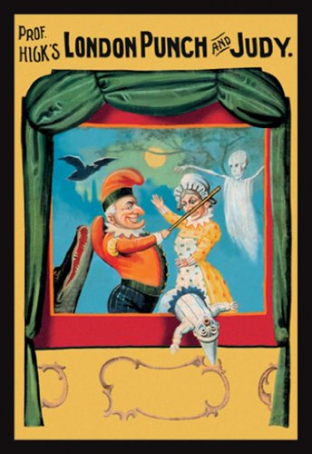 Prof. Hick'S - London Punch And Judy, 24X36 Paper Giclée front-1035681