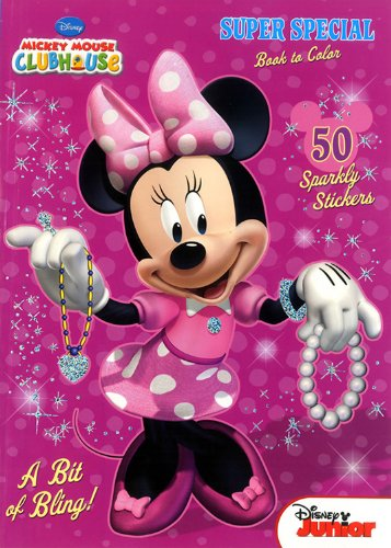 Mickey Mouse Clubhouse Super Special Book to Color