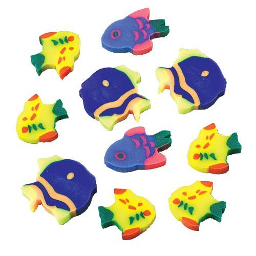 Mini Fish Erasers - 1
