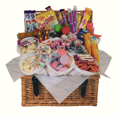 Retro Sweets Bumper Hamper - Old Fashioned Traditional Sweets