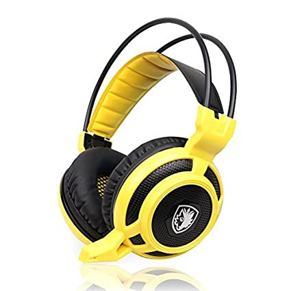 SADES-Arcmage-PC-Gaming-Headset-Headphone-with-High-Sensitivity-Mic-for-PC/Notebook/Laptop(Yellow)