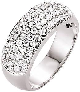 Spirit - New York Damen-Ring Silber rhodiniert Zirkonia weiß Gr.54 (17.2) 93002993540