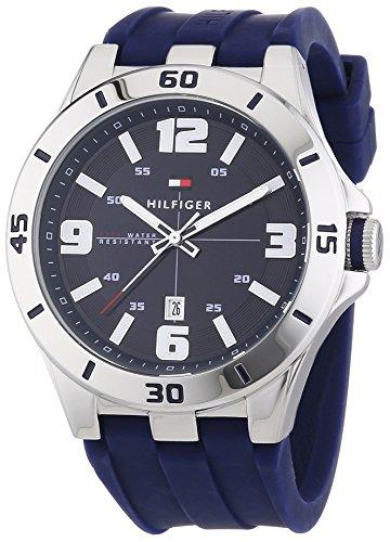 Tommy Hilfiger Watches Herren-Armbanduhr XL DREW Analog Quarz Silikon 1791062 thumbnail