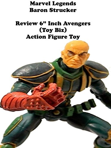 "Marvel Legends BARON STRUCKER Review 6"" inch Avengers action figure toy"