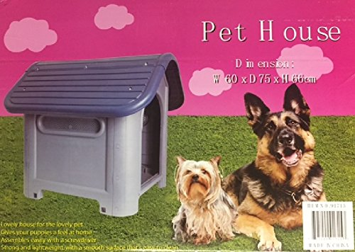 Outdoor Shelters For Dogs : Indoor outdoor dog house small to medium pet all weather