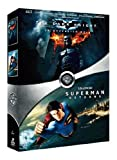 echange, troc The Dark Knight, le chevalier noir - Superman Returns : coffret 2 DVD