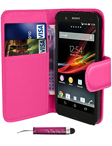 pink-sony-xperia-e-c1505-book-quality-premium-pu-leather-flip-wallet-case-cover-pouch-screen-protect