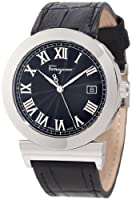 Salvatore Ferragamo Men's F71LBQ9909 S009 Grande Maison Stainless Steel Black Dial Leather Watch from Salvatore Ferragamo