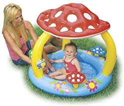 INTEX Mushroom Baby Inflatable Wading Swimming Pool | 57407EP
