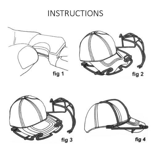 perfect curve cap rack instructions