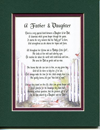 A Birthday Or Christmas Gift Present Poem For A Father And Daughter #21.