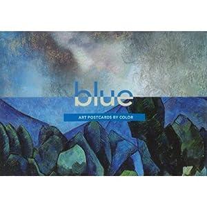 Art Postcards by Color- Blue Theme