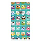 Head Case Designs Designs Kawaii Green Owl Pattern Case for Nokia Lumia 800