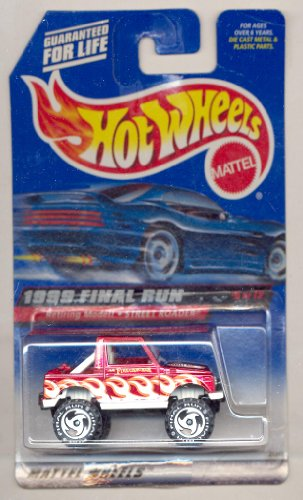 Hot Wheels 1999 Final Run 5/12 Retiring Model RED/WHITE Street Roader 1:64 Scale