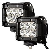 (スタンセン) Stansen 6インチLEDワークライト LEDライトバー オフロード防水作業灯 CREE製18W 960LM 6連10-30VDC対応(12V/24V兼用)単列配列 [並行輸入品]