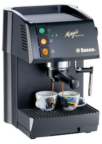 saeco magic cappuccino espressoautomat schwarz test. Black Bedroom Furniture Sets. Home Design Ideas