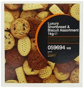 3663 Luxury Shortbread & Biscuit Assortment 1kg