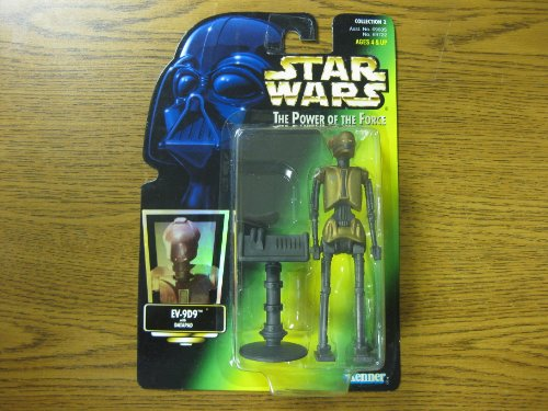 Star Wars POTF Collection 2 EV-9D9 w/ Datapad Hologram card