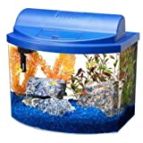 Aqueon 17775 Mini Bow 5 Desktop Aquarium Kit, Blue