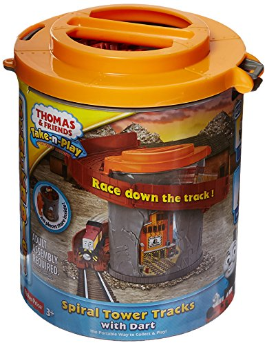 Fisher-Price Thomas & Friends Take-n-Play Spiral Tower Tracks with Dart (Super Spiral Play Tower compare prices)