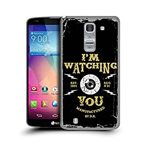 MobileGlaze Designs 90s Rock Music Watching You Hard Back Case Cover for LG G PRO 2 D838