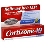 Cortizone-10 Anti-Itch Creme, Maximum Strength, 1 oz.